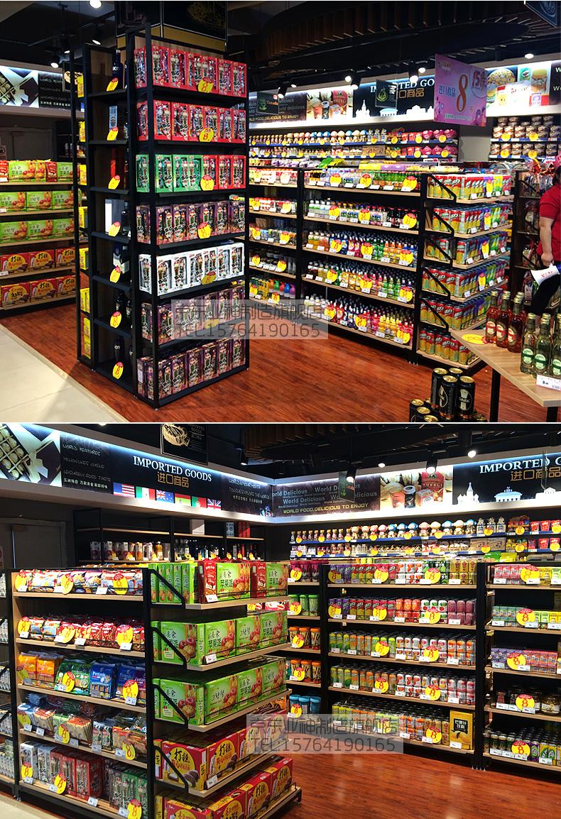 进口食品货架实拍图2