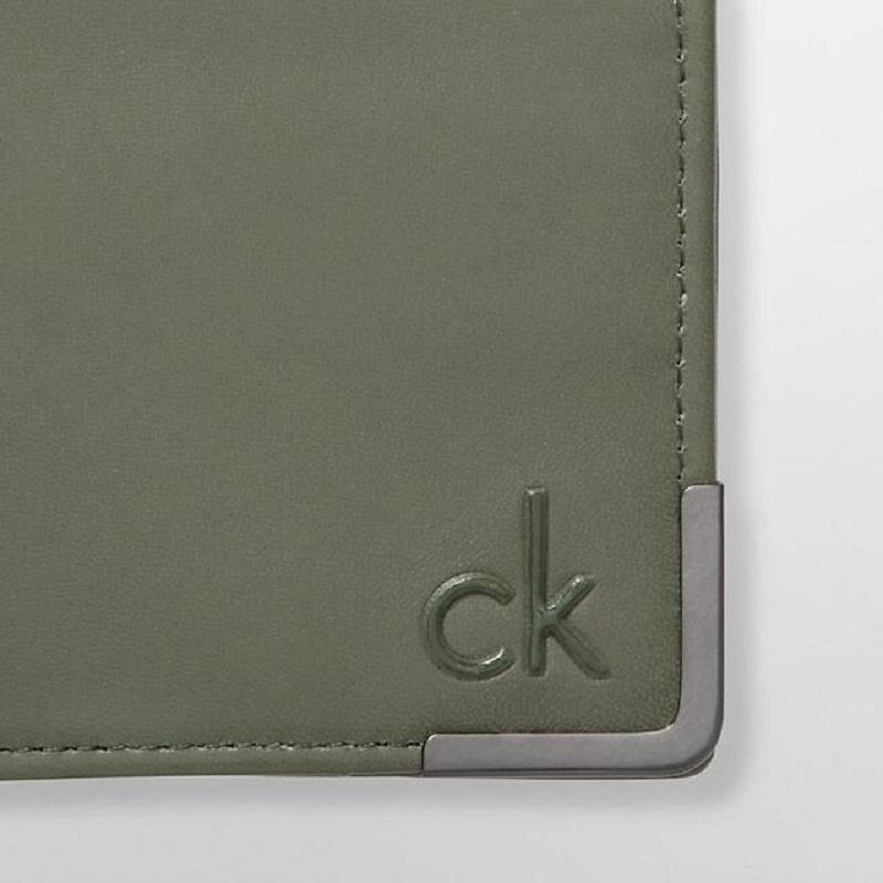 Ví nam Calvin KleinCK47207676 ARMOUR GREEN - ảnh 8