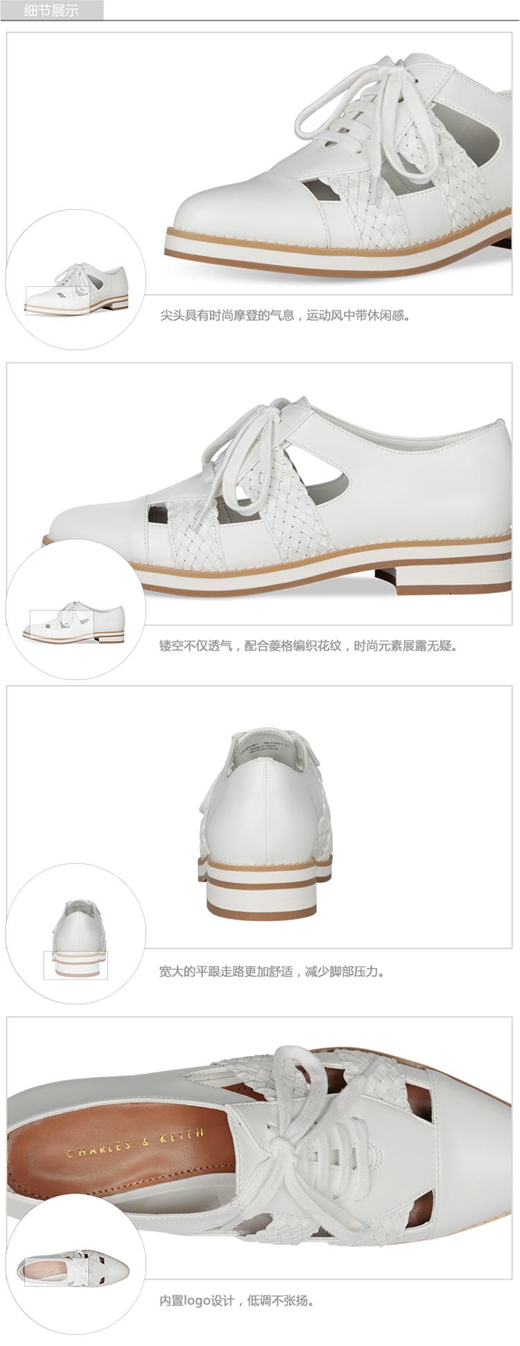 Giày nữ Charles & Keith CHARLESKEITHCK1 70580087 41 CK1-70580087 - ảnh 6
