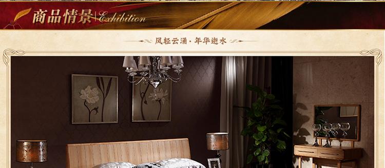 现代简约实木床头柜时尚带抽屉置物柜小床边柜储物柜 单个床头柜