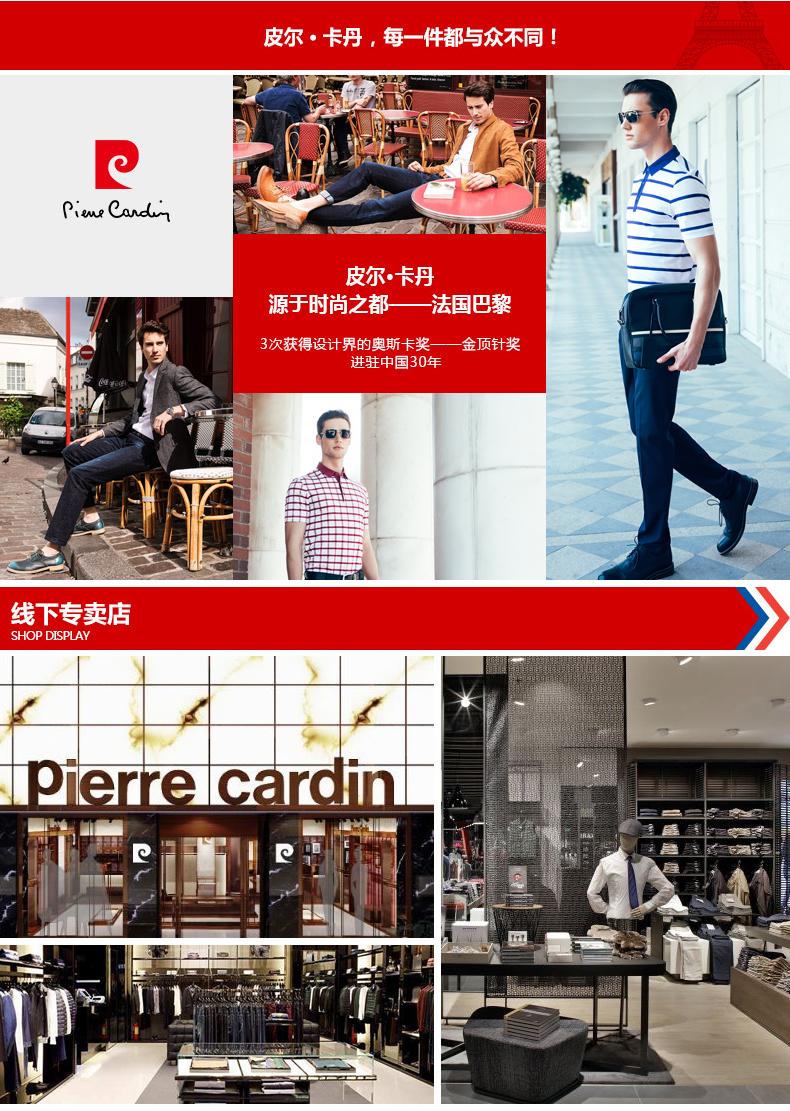 Áo phông không cổ nam Pierre Cardin 100 180 BB7827 - ảnh 20