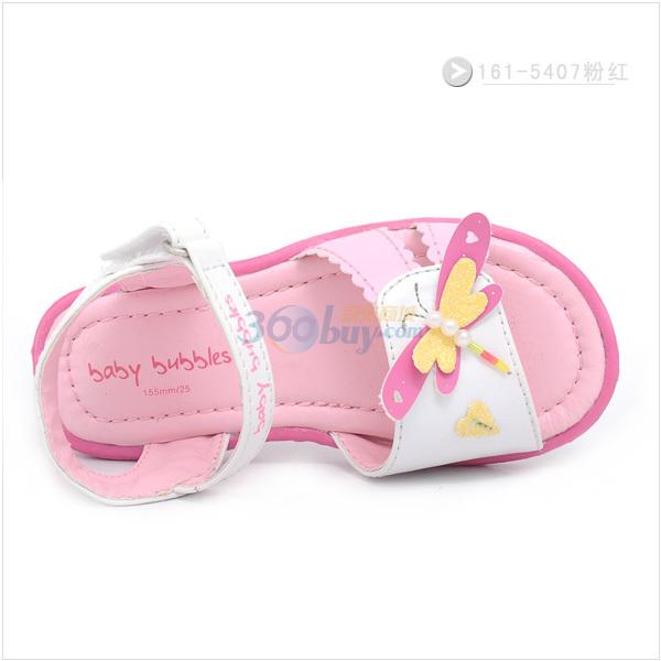 bata童鞋2011新款儿童宝宝凉鞋女童公主鞋161-5407