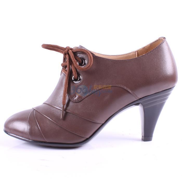一体跟 女单鞋
