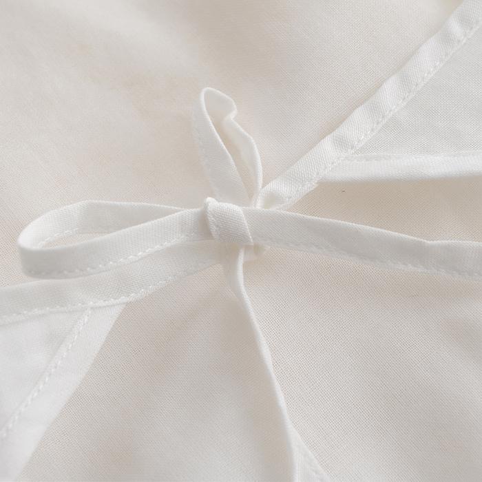 婴儿内衣纱布短蛤