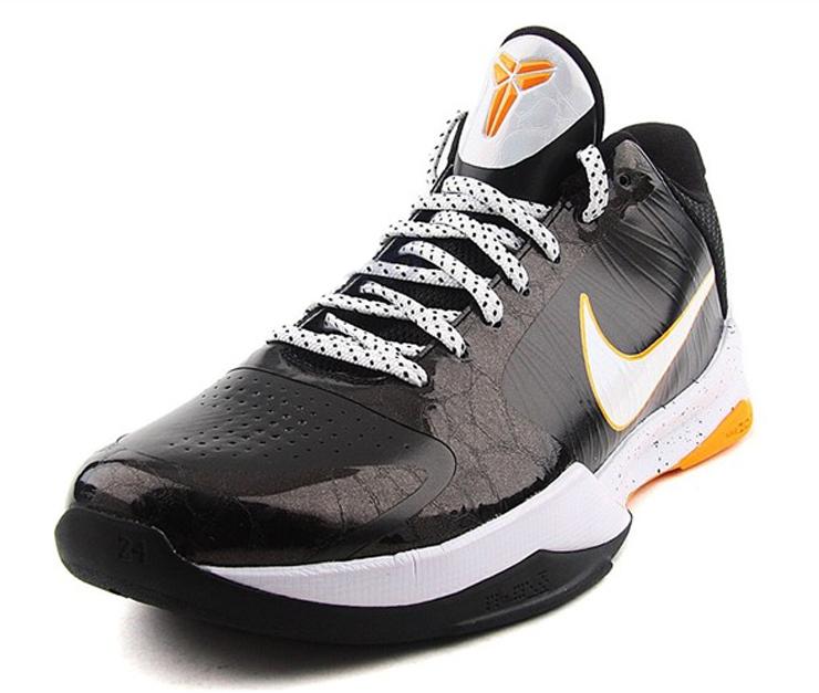 男士篮球鞋 ZOOM KOBE VX科比ZK5 黑曼巴 B D 386430 002 44.5码