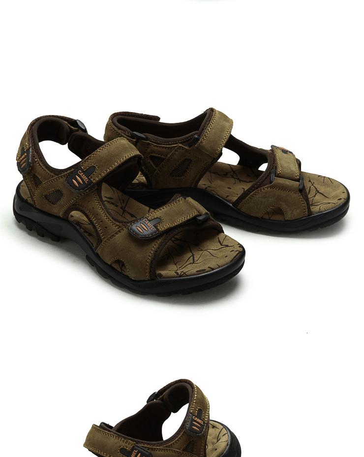 camel/骆驼男凉鞋 2012夏季新款
