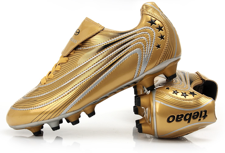 运动鞋铁豹(tiebao)8324金靴系列户外足球鞋/胶钉/钉