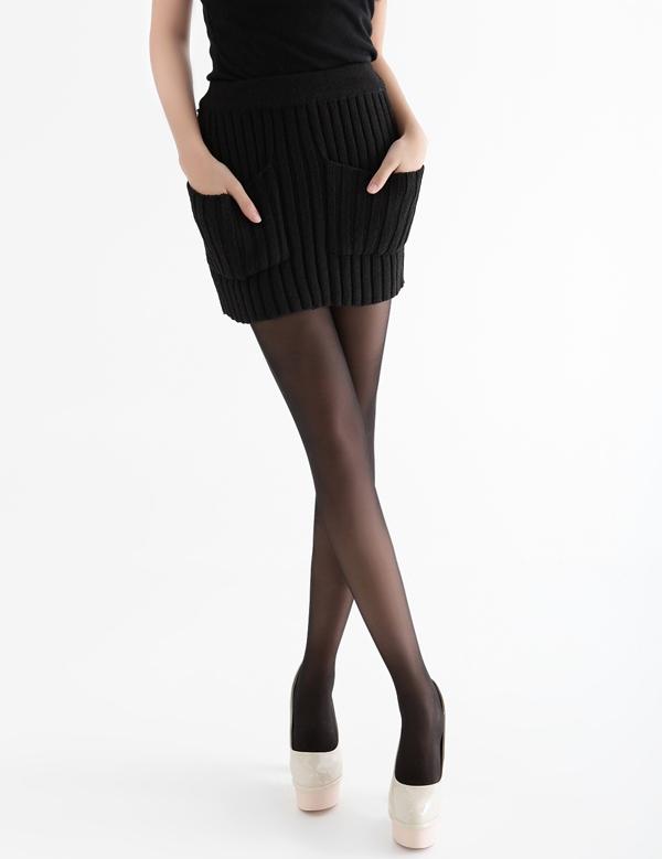 包臀女士毛线短裙