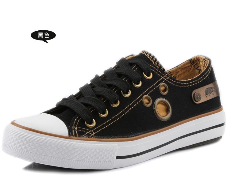 球鞋女生帆布鞋新款学生鞋