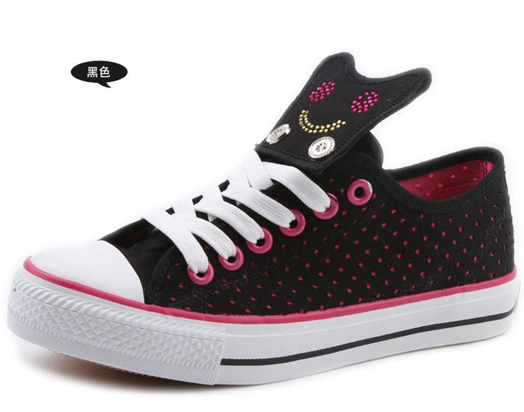 亿尔发 2012夏季新款韩版女款帆布鞋