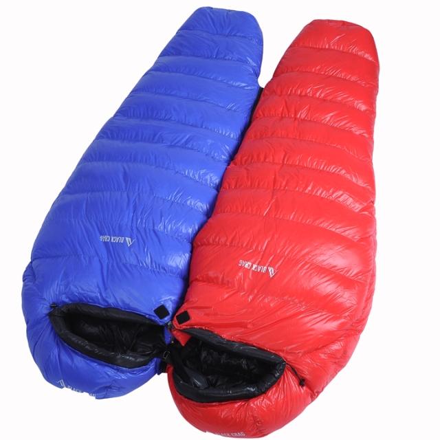 Black Rock (BlackCrag) 700 Punta 500 g white goose down sleeping bag outdoor travel ultralight -3 degrees black