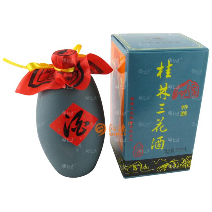 36度 500ml美陶瓶特酿桂林三花酒