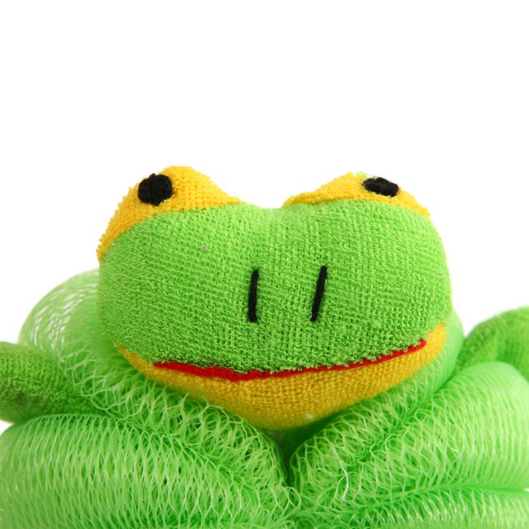 H 3卡通沐浴球 小鸭 青蛙 兔子组合套装3入图片