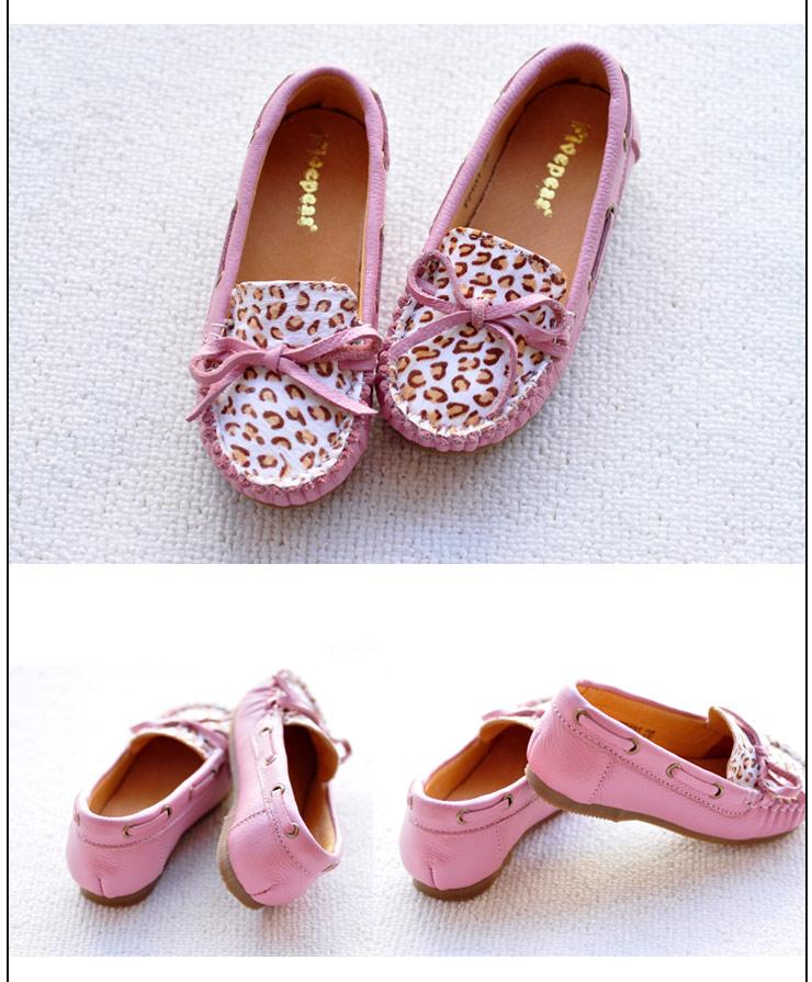 牛皮中大女童鞋母女单鞋女孩子皮鞋韩版公主童鞋清仓