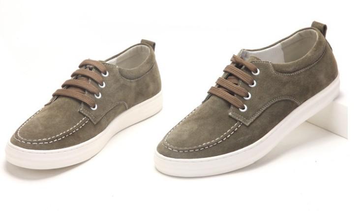 男士反绒真皮鞋韩版流行潮鞋英伦板