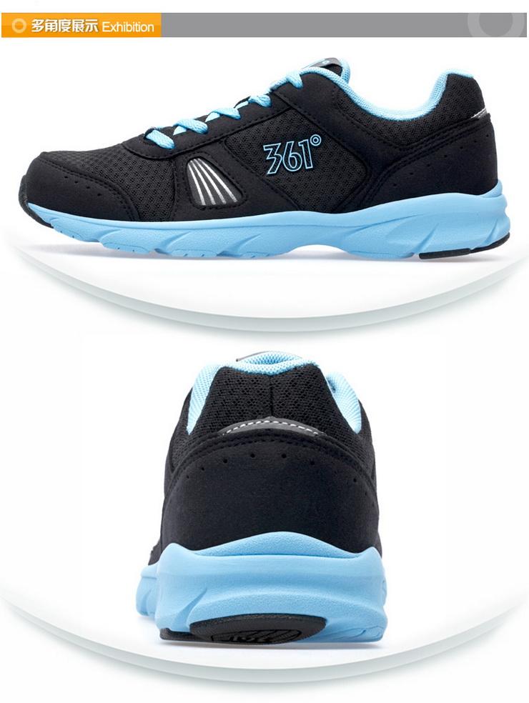 361°361度休闲女鞋透气低帮休闲运动女款跑步鞋