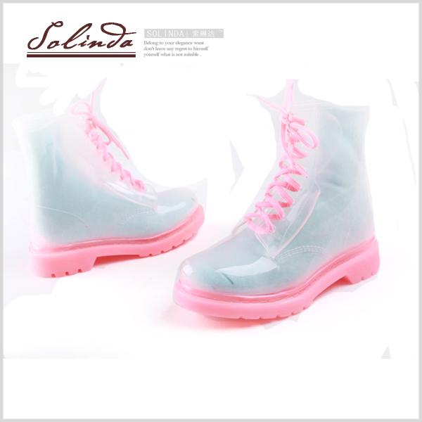 透明水鞋送袜