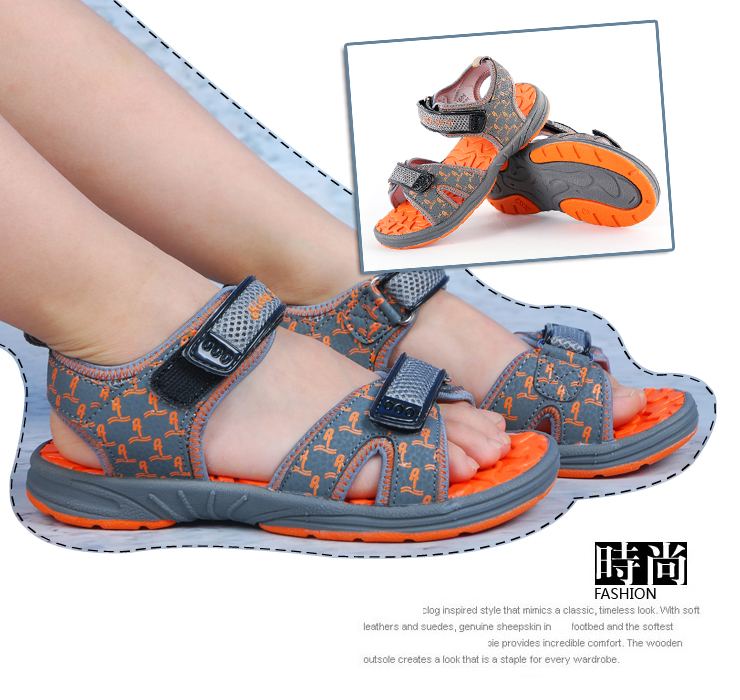 卡迪儿童凉鞋 夏季男童中大童凉鞋