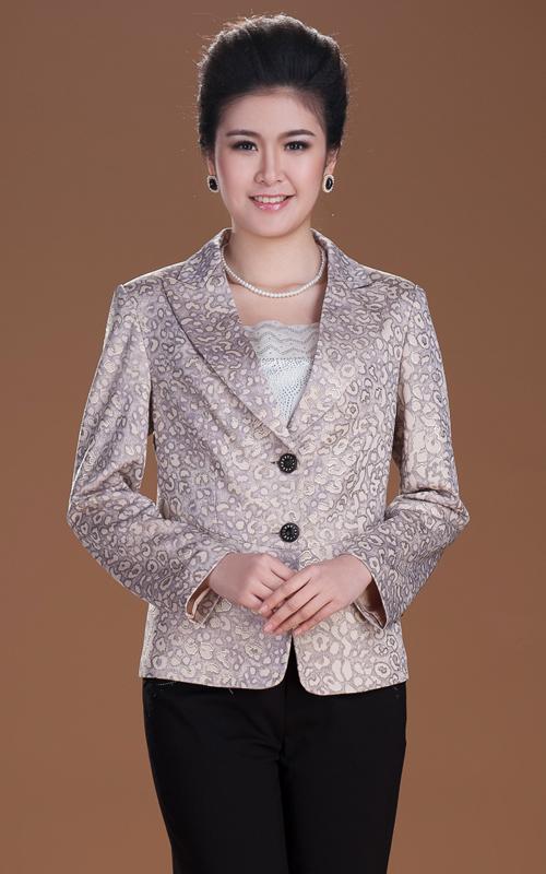 芭黎依橱 2013春装新款中老年女装小西服外套
