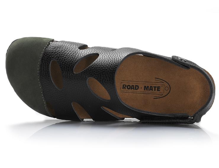 mate/路伴 专柜正品户外流行真皮博肯沙滩男士凉鞋