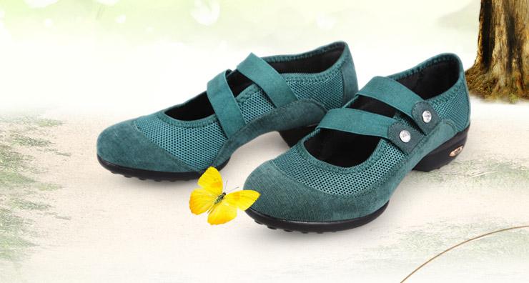 雷博夏季新款舞蹈鞋 女式凉鞋