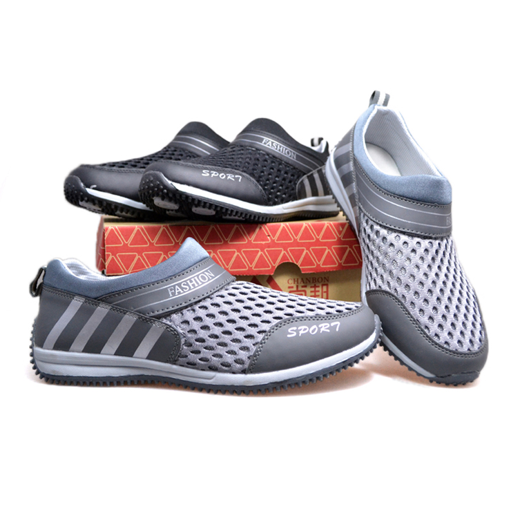 女鞋情侣款一脚蹬懒人网面休闲鞋细网运动鞋34011788