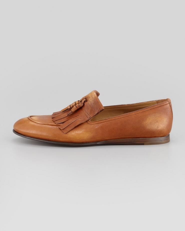 普拉达 prada 男式休闲皮鞋
