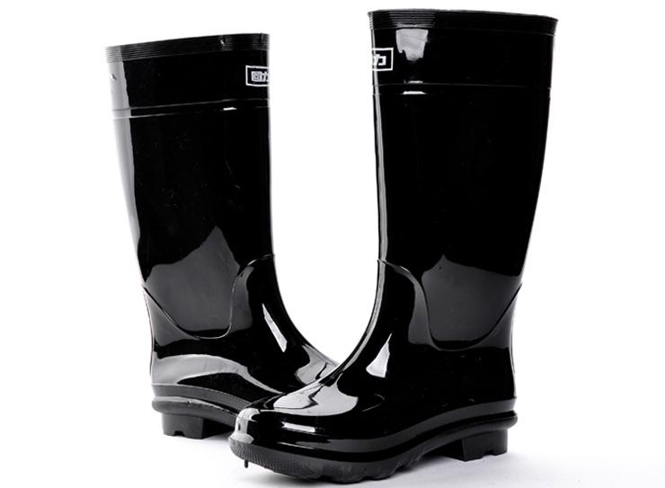回力warrior男款胶鞋水鞋套鞋雨靴男鞋钓鱼鞋雨鞋