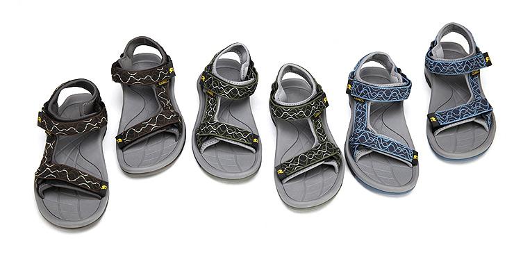 骆驼(camel)新款 户外休闲沙滩凉鞋沙滩鞋