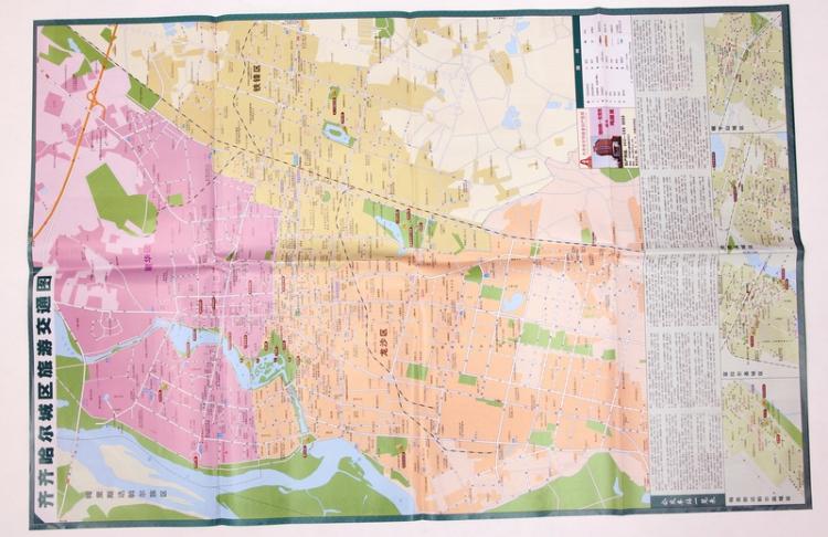 齐齐哈尔市地图 齐齐哈尔交通游览图