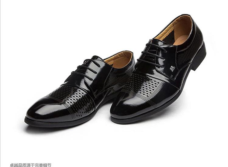 【支持货到付款】兽霸2014夏季男士商务正装凉皮鞋男