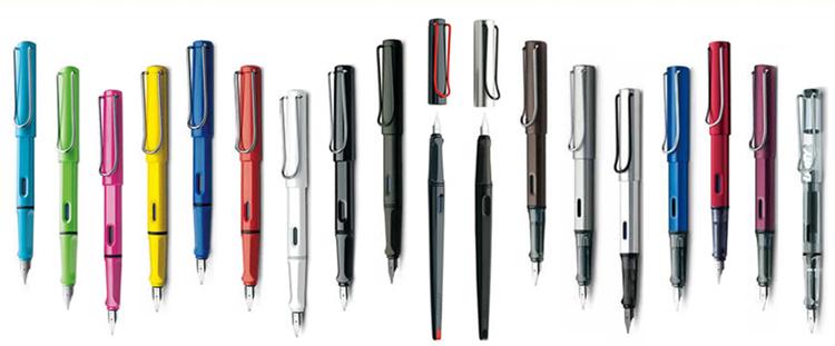 凌美lamy 钢笔/签字笔 创意与时尚的设计 狩猎者限量粉色f尖0.5钢笔图片