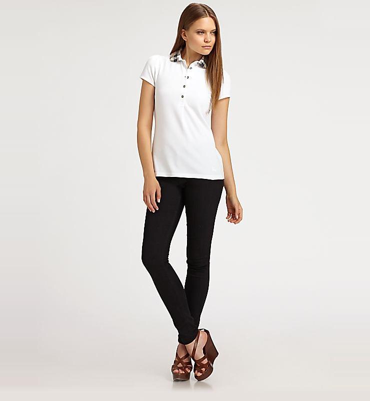 女式短袖polo衫