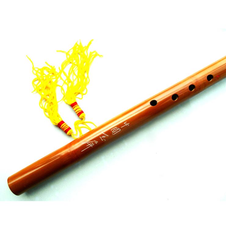 玉屏箫笛 山竹8孔 6孔洞箫 初学必备 箫 乐器QBJ000029