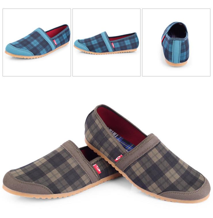 韩版情侣网布鞋板鞋子