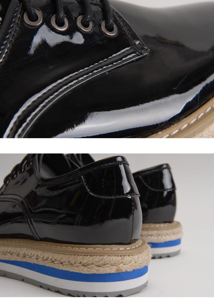 男士低帮系带厚底增高鞋
