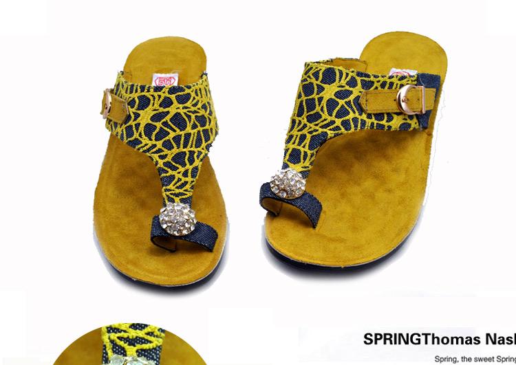 夹板凉拖鞋沙滩鞋