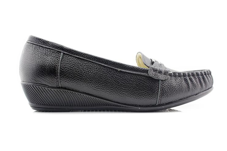花牌女鞋3318 上海皮鞋厂头层牛皮休闲女鞋