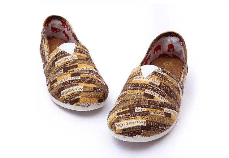 帮平底帆布鞋女韩版潮鞋浅口一脚蹬懒人鞋