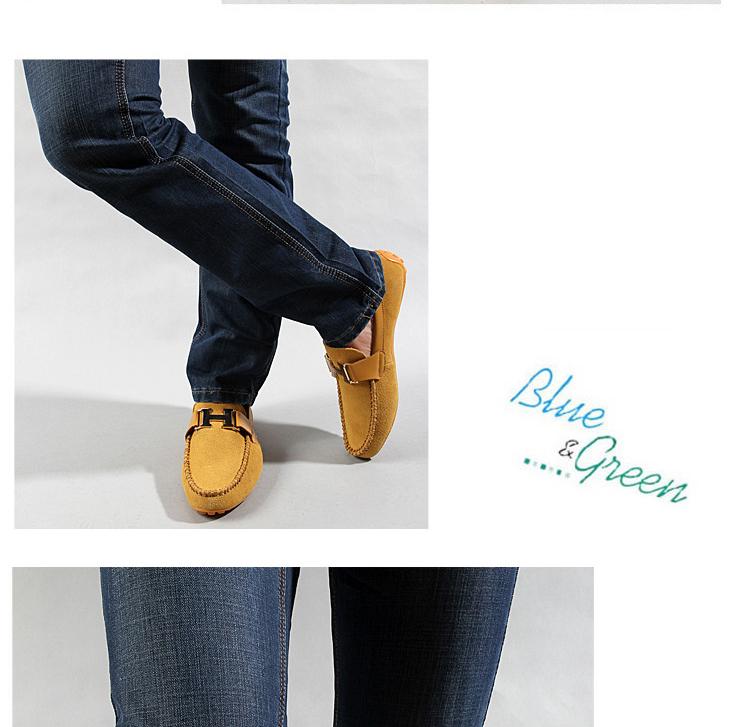 男士白色真皮鞋