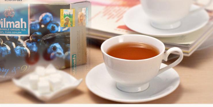 【斯里兰卡进口红茶】Dilmah 迪尔玛 蓝莓香草