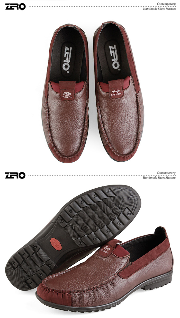 鹿皮男式皮鞋 日常休闲鞋