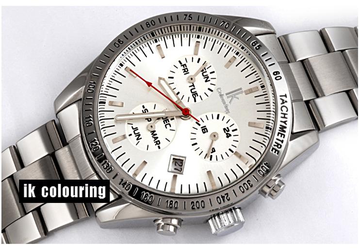ouring 阿帕琦 男士 商务腕表 经典机械手表 圆形 表盘 钢带 98211G