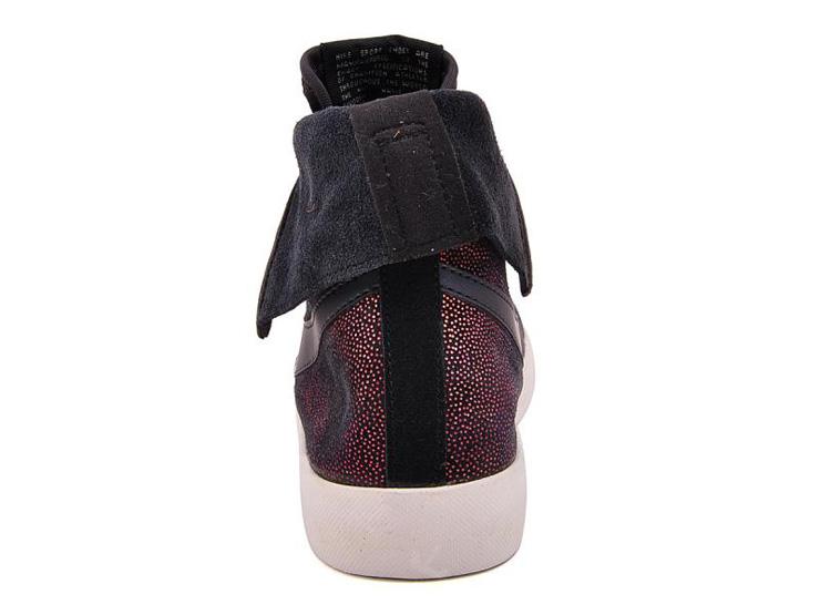 耐克女鞋2013新款板鞋高帮休闲鞋585561-001