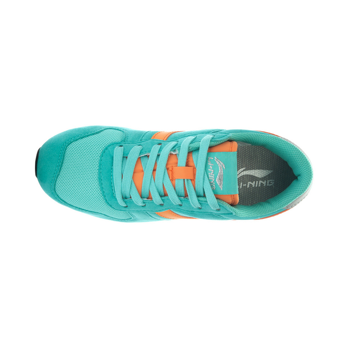 李宁lining2014年春季新款女鞋经典复古的休闲慢跑鞋