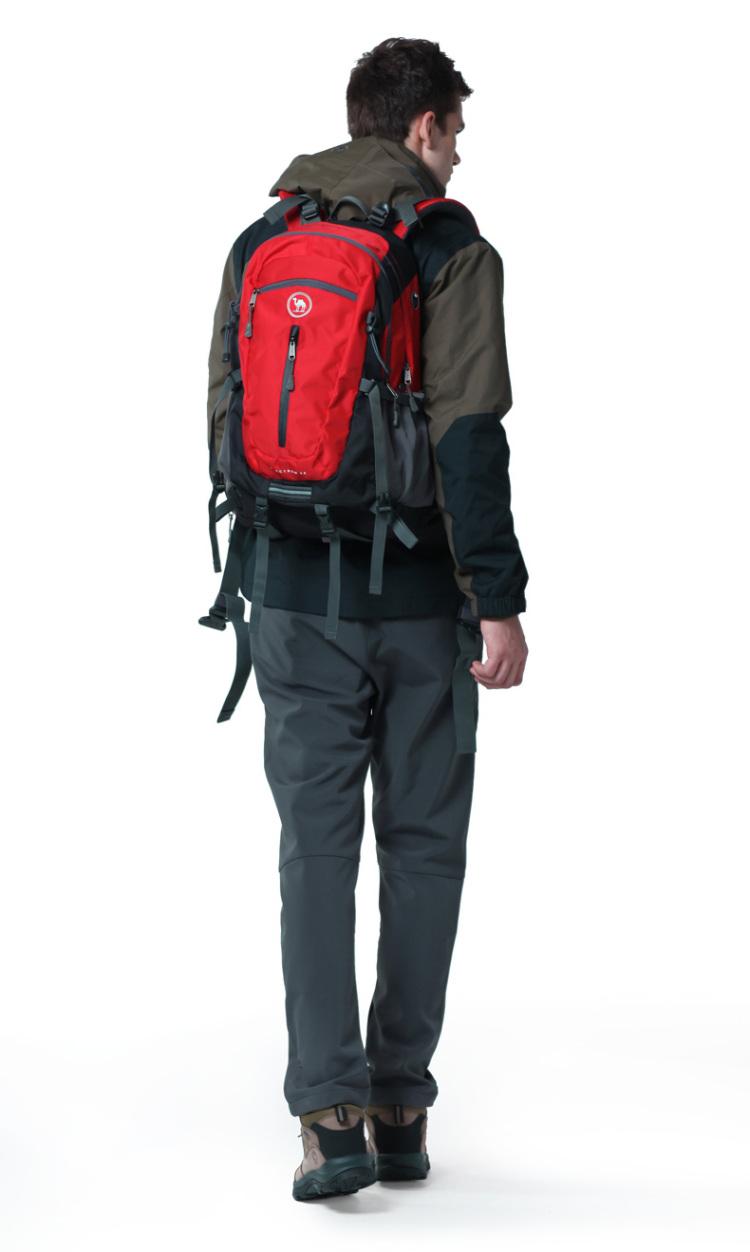 骆驼牌登山包男女户外双肩包情侣徒步旅游背包登山