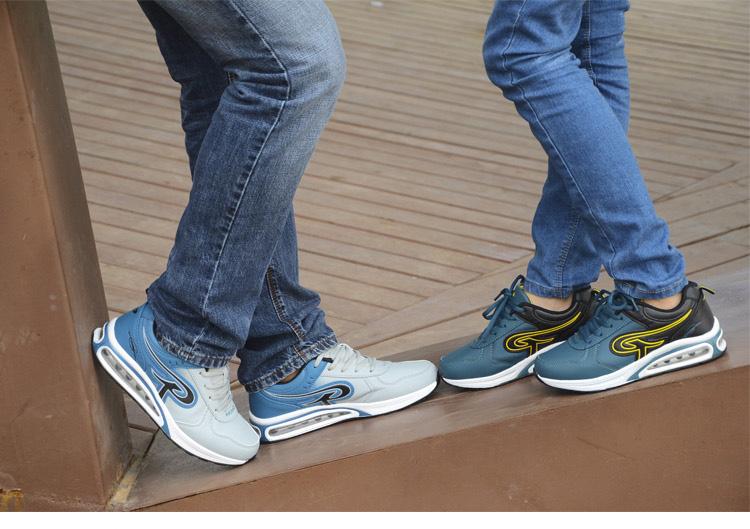 男士新款休闲透气面减震耐磨底舒适男鞋