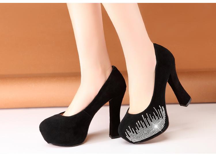 2014时尚 高根鞋