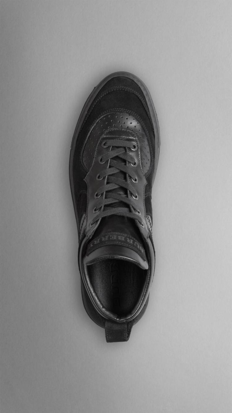 2014新款巴宝莉burberry男鞋布洛克休闲鞋
