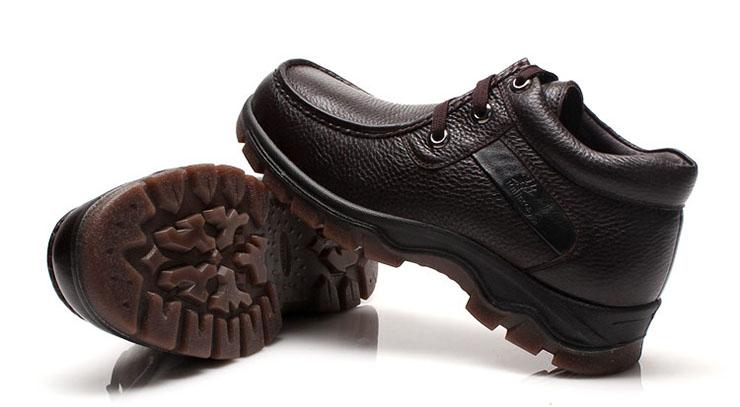 皮鞋男士保暖加绒皮